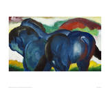 Small Blue Horses 1911