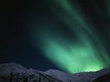 Aurora Borealis  Gates of the Arctic National Park and Preserve  Alaska  USA