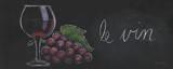 Chalkboard Menu IV - Vin