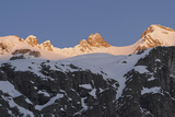 Sunrise on Mt Reichenspitze  Mt Gabler  National Park Hohe Tauern  Austria