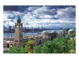 Hamburg Port - Landungsbrcken