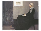 Arrangement In Grey and Black  No1: Portrait Of The Artist's Mother
