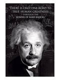 Einstein - True Human Greatness