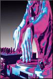 DJ Turntable Pop Art Print Poster
