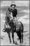 John Wayne (On Horse) Movie Poster Print