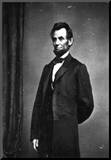 President Abraham Lincoln Standing Archival Photo Poster Print
