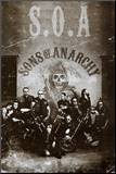 Sons of Anarchy Group TV Poster Print