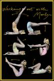 Marilyn Monroe (Working Out) Movie Poster Print