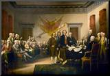 John Trumbull (Declaration of Independence) Art Poster Print