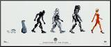 Battlestar Galactica Evolution of the Cylon TV Pos
