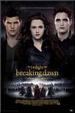 Twilight Breaking Dawn Part 2 - Edward  Bella and Jacob Movie Poster