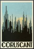 Coruscant Retro Travel