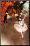 Edgar Germain Hilaire Degas (The Prima Ballerina) Art Poster Print
