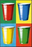Party Cups Pop Art