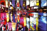 Times Square Colors