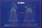 Doctor Who - Dalek Blue Prints