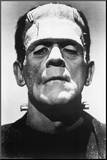 Frankenstein Movie (Boris Karloff  Close-Up) Poster Print