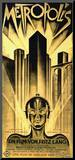 Metropolis Movie Fritz Lang Poster Print