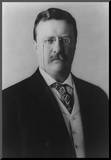 Theodore Roosevelt (Portriat)  Archival Photo Poster Print