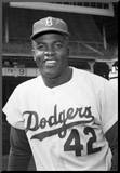 Jackie Robinson 42 Archival Sports Photo Poster