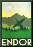 Endor Retro Travel Reproduction montée