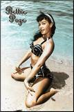 Bettie Page - In the Sand