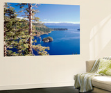 View of Lake Tahoe and Emerald Bay in Morning  California  USA