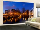 Keizergracht Canal  Leidsegracht Canal  South Holland  Amsterdam  Netherlands