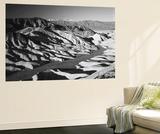 Telescope Peak in Mojave Desert  Death Valley National Park  Zabriskie Point  California  USA