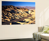 Telescope Peak in Mojave Desert  Death Valley National Park  Zabriskie Point  California  USA