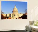 Capitol Building at Dusk  Washington DC  USA