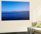 Blue Waters of the Juan De Fuca Strait  Washington  USA