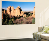 Garden of the Gods State Park  View of Landscape  Colorado  USA