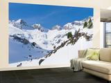 Reichenspitze Range  Hohe Tauern  Richterhuette Mountain Hut  Austria