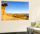 Badlands Rock Formation  Missouri River Breaks National Monument  Montana  USA
