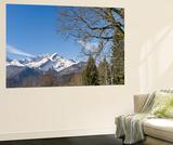 Wetterstein Mountains  Mt Alpspitze  Mt Zugspitze  Mt Hochblassen  Bavaria