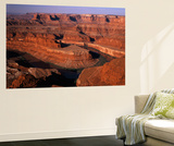 View of Dead Horse Point State Park with Colorado River  Utah  USA