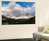 Rosengarten or Catinaccio Mountains  Schlern-Rosengarten  Dolomites  Italy