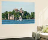Boldt Castle  'American Narrows'  St Lawrence Seaway  Thousand Islands  New York  USA