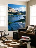 Bridger Wilderness with Island Lake  Wyoming  USA