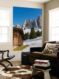Geisler Mountains  Valley Villnoess  Dolomites  South Tyrol  Italy