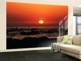 View of Beach at Sunset  Pacific Grove  Monterey Peninsula  California  USA