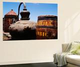 Old Barrel and Storage Tank  Saint Martin  Caribbean