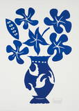 Vase I Bleu