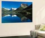 St Mary Lake  Glacier National Park  Montana  USA