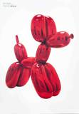 Balloon Dog (Red) Reproduction d'art par Jeff Koons