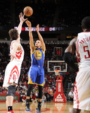 Houston  TX - February 5: Stephen Curry and Omer Asik