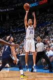 Oklahoma City  OK - May 15: Kevin Martin and Jerryd Bayless
