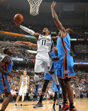 Memphis  TN - May 13: Mike Conley and Serge Ibaka