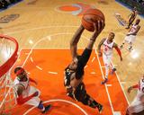 New York  NY - May 16: Paul George and Carmelo Anthony